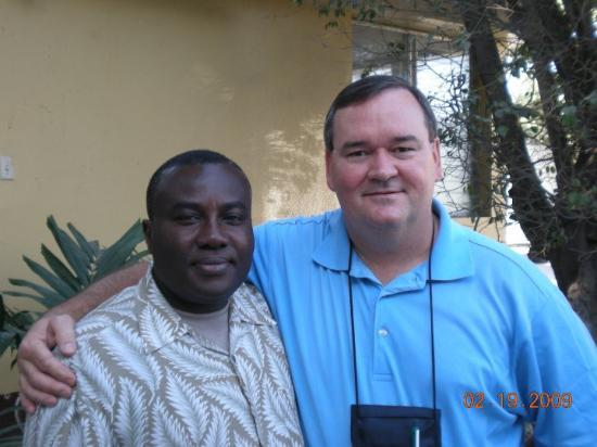 Port-au-Prince, Haiti: Hanging out with Louis St. Clair