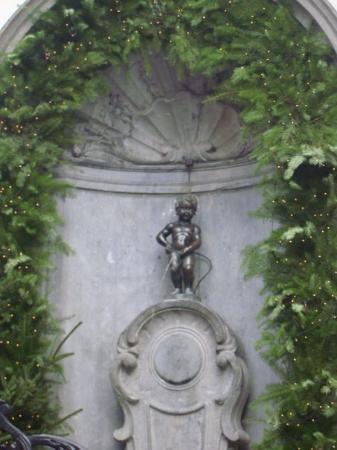 Bilde fra Manneken Pis