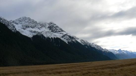 Fiordland National Park, New Zealand: On the way to Milford Sound