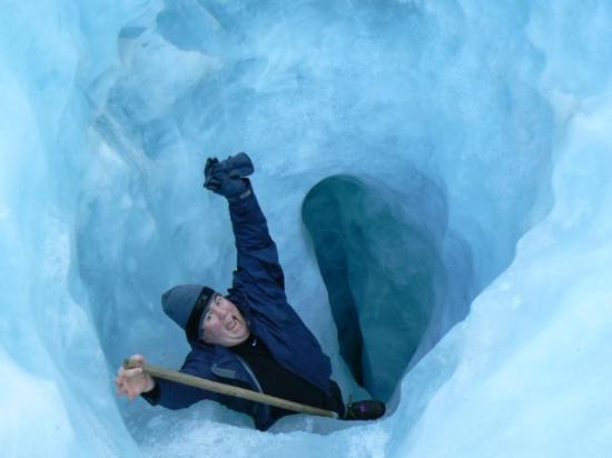 Fox Glacier, New Zealand: My absolute favorite picture of Jeff!!!