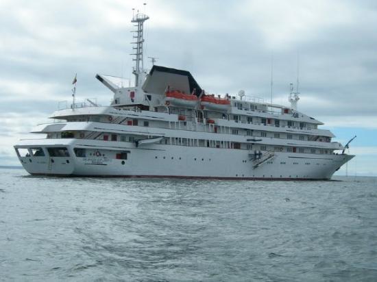 Baltra, Ecuador: Our Ship - The Glapagos Explorer