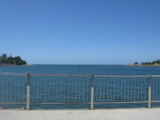 Launceston, Australia  Looking out towards the mainland.