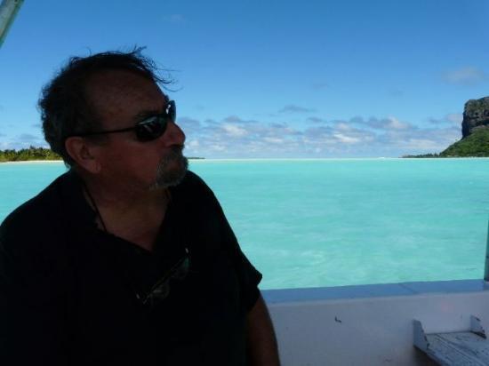 Maupiti Island, Fransk Polynesia: jacquouille la fripouille est heureux