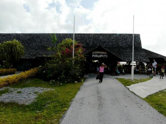 Maupiti Island, Fransk Polynesia: aéroport