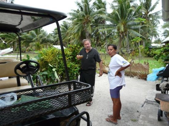 Maupiti Island, Fransk Polynesia: jacquouille la fripouille et josée