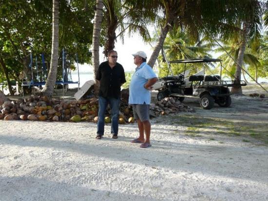 Maupiti Island, Fransk Polynesia: jacquouille la fripouille et gérald