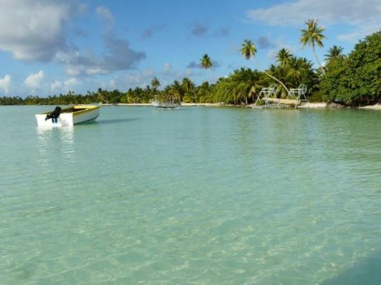 Maupiti Island, Fransk Polynesia: on arrive