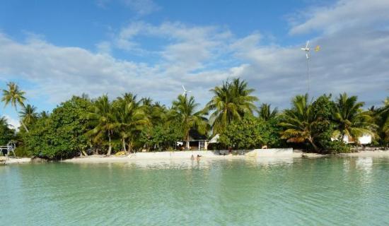 Maupiti Island, Fransk Polynesia: le petit paradis: motu de  josée et gerald