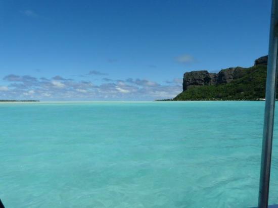 Maupiti Island, Fransk Polynesia: de l'aéroport on va au motu