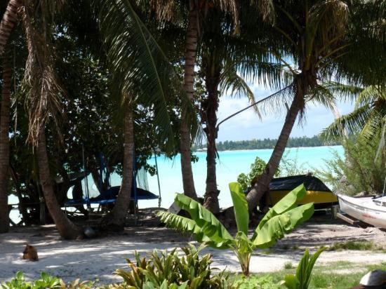 Maupiti Island, Fransk Polynesia: vue du fare