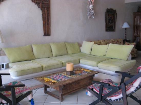 Akumal, Mexico: Living room