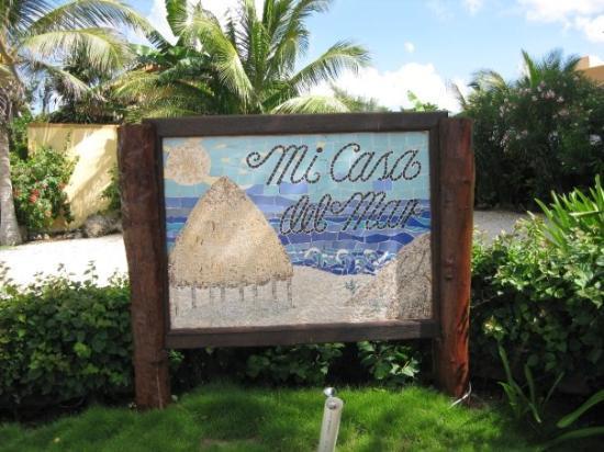 Akumal, Mexico: Entrance to Condo