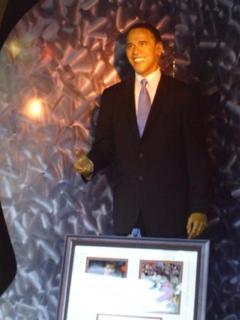 The Wax Museum at Fisherman's Wharf: Barack Obama