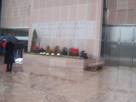 Smithsoniansk nasjonalmuseum for naturhistorie: American History Museum
