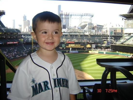 Safeco Field: At a Seattle Mariner's game.