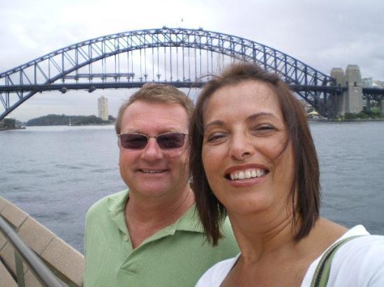 Sydney Harbour Bridge: Lisa and Mark - Sydney Bridge