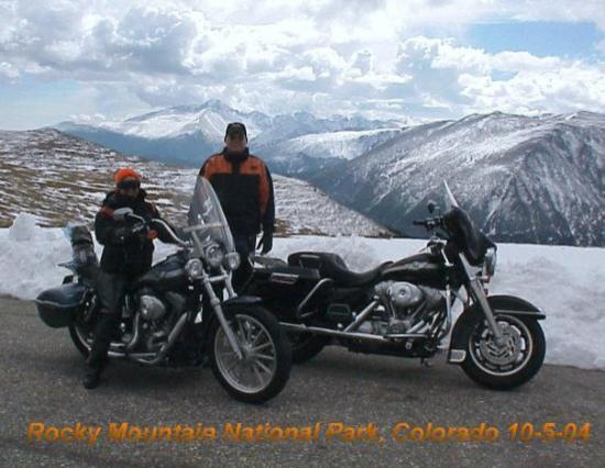 Rocky Mountain National Park outside of Estes Park, CO
