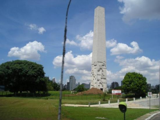 São Paulo, SP: el obelisco