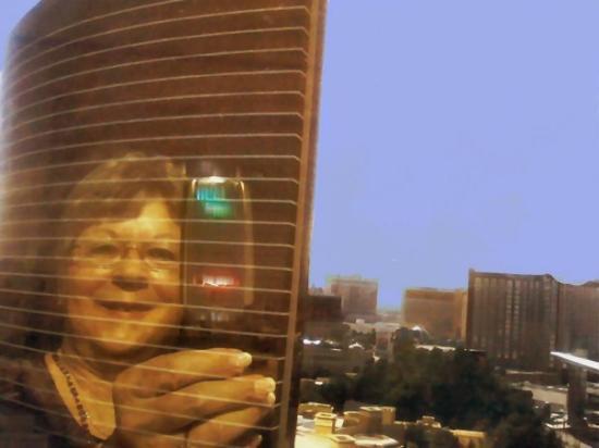 Encore At Wynn  Las Vegas: Reflection In The Winn From The Encore.