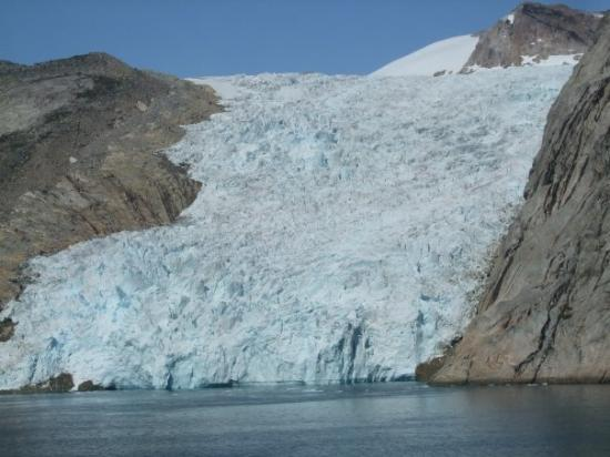 Glacier In Prince Christian Sound Greenland Picture Of