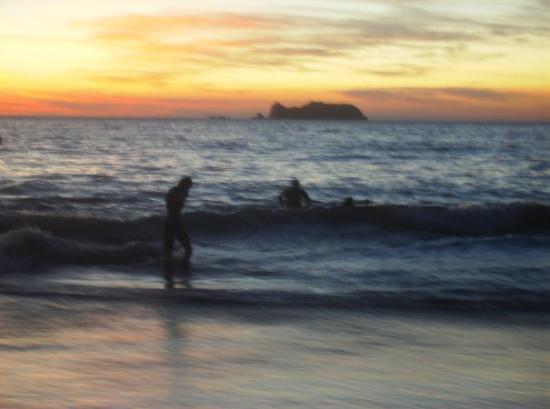 Zihuatanejo, Mexico: aki yo saliendo dl agua ya el 25