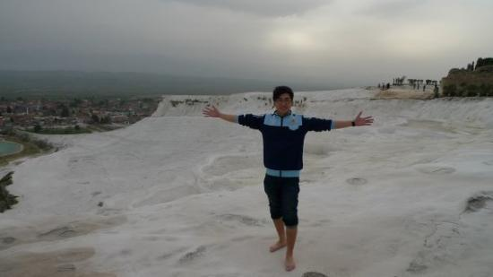 Pamukkale Thermal Pools: Cotton Castle just like a snow mountain