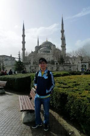 Den blå moské: Blue Mosque, Istanbul