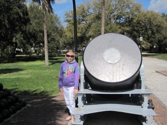 Charleston, SC: Now that's a gun....