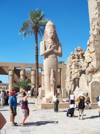 Karnak-tempelet: More of Karnak Temple.