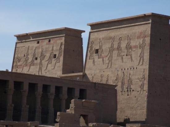 The temple in Aswan.