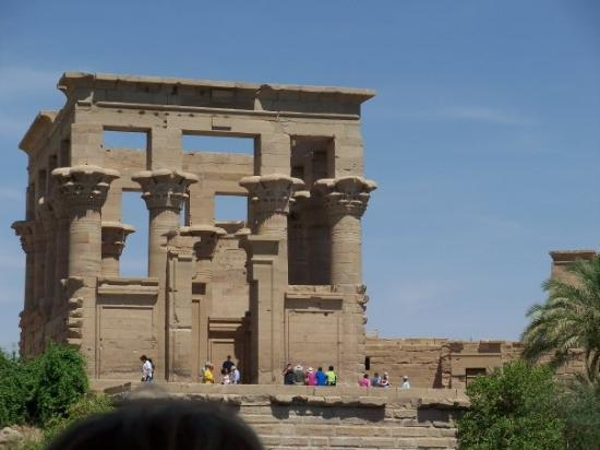 This is one of the temples in Aswan.