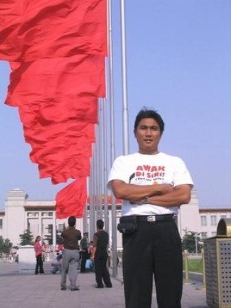Bilde fra Tiananmen Square (Tiananmen Guangchang)