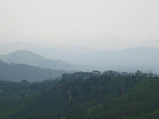 Munnar, India: View from our room in Coorg