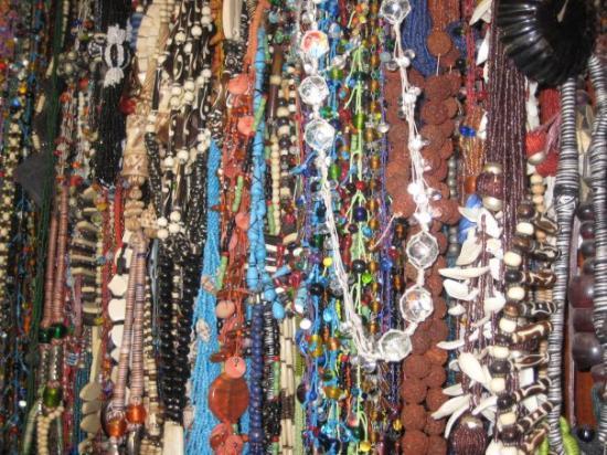 Calcutta, India: Beadwork at Chumba Lama, New Market; Kolkatta