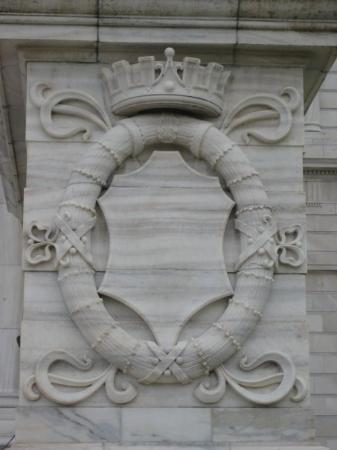 Calcutta, India: A Marble Carving At The Victoria Memorial Museum; Kolkatta