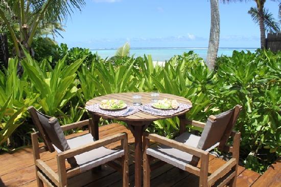 Sea Change Villas: lunch in style