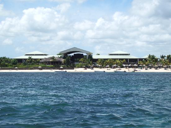 Le Meridien Ile Maurice: EL HOTEL DESDE EL MAR