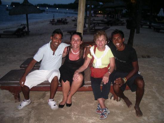 Le Meridien Ile Maurice: FOTO CON AYVIND Y VICTOR