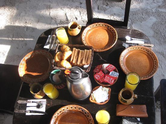Playa Mambo: Breakfast