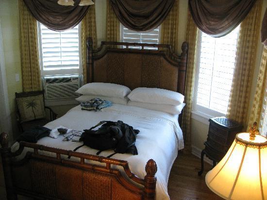 The Duval Inn: Schlafzimmer im Erdgeschoss.