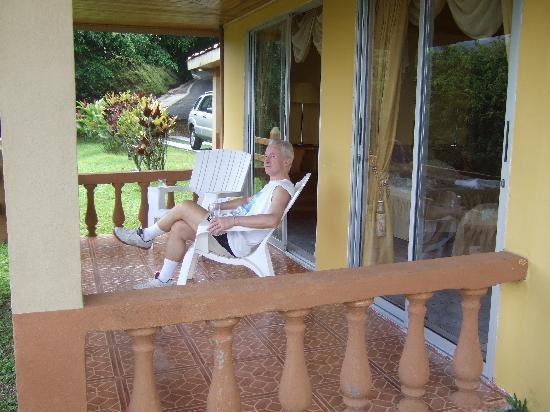 Linda Vista Hotel: Terrasse suite 28