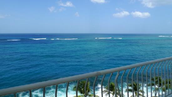 The Condado Plaza Hilton: View from a balcony