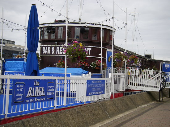 The Barge on the Brayford : The Barge Brayford