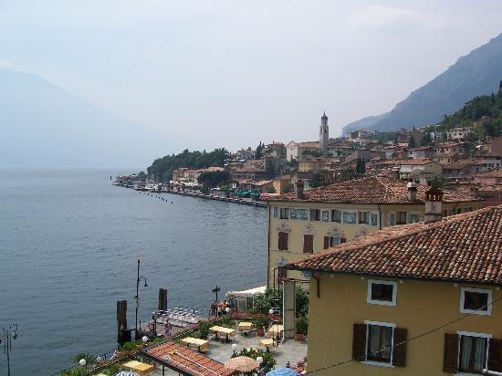 Hotel San Pietro: Town view of Limone