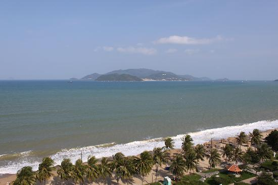 Novotel Nha Trang: View of beach from balcony