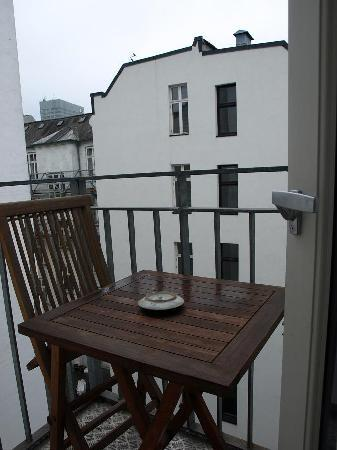 Axel Guldsmeden - Guldsmeden Hotels: Balcon