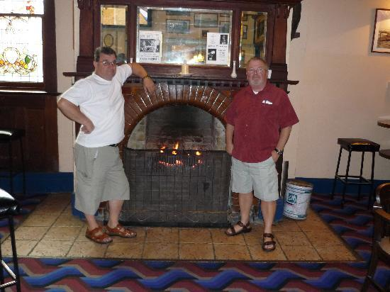 Imperial Hotel: A warming Fire!