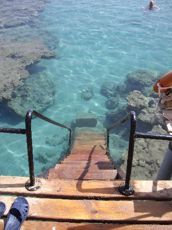 Sofitel Taba Heights: End of the jetty