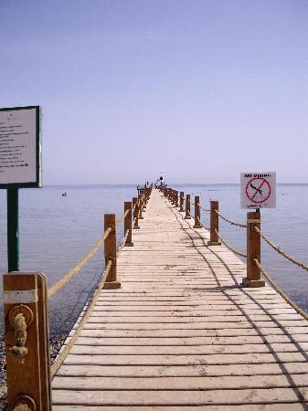 Sofitel Taba Heights: The jetty