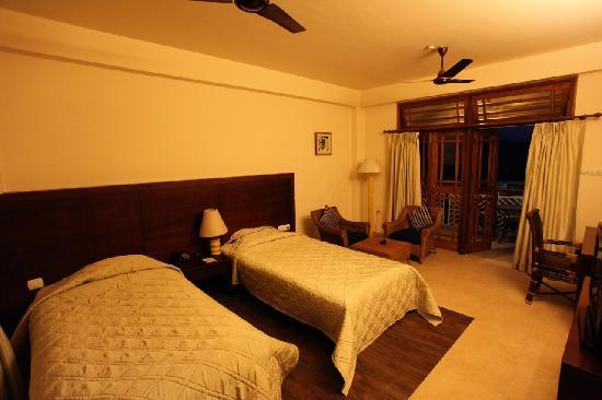 IORA - The Retreat,Kaziranga: A standard twin room at Hotel Iora, The Retreat at Kaziranga National Park, Assam, India
